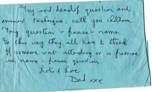 Teaching tip from father to daughter: September 18th 1992. From Wolverhampton to Delhi