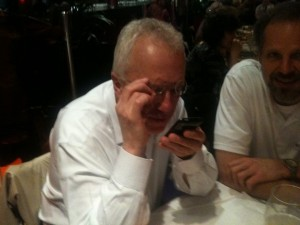 Herbert Puchta learning to tweet