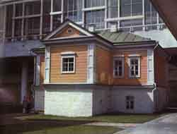 The house where Lenin was born