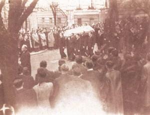 Jan Opletal's funeral