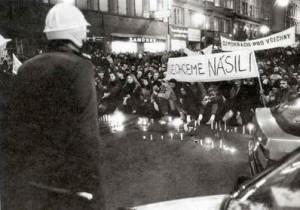 November 17th Prague Narodni Trida