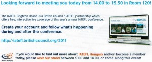 Find out more about IATEFL-Hungary