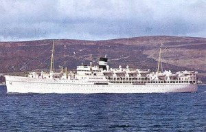 S.S. Devonia the ship I went to Norway on in 1967