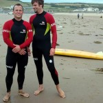 The Croyde lifeguards the teachers interviewed last year, will they be the same this year? This was one of the highlights of our course!