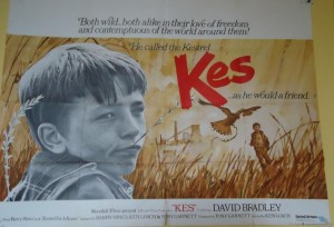 Billy Casper, the 14-year-old boy whose only love was his bird Kes. The time his teacher went to watch him in the field and in the shed is one of the most moving moments in British cinema involving a teacher and a student